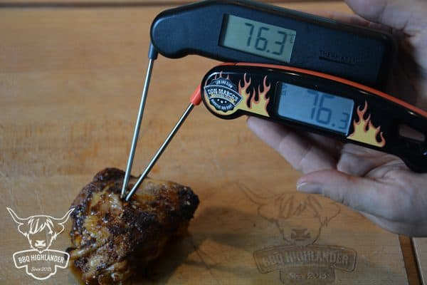 Don Marco's Barbecue Superfast Thermometer